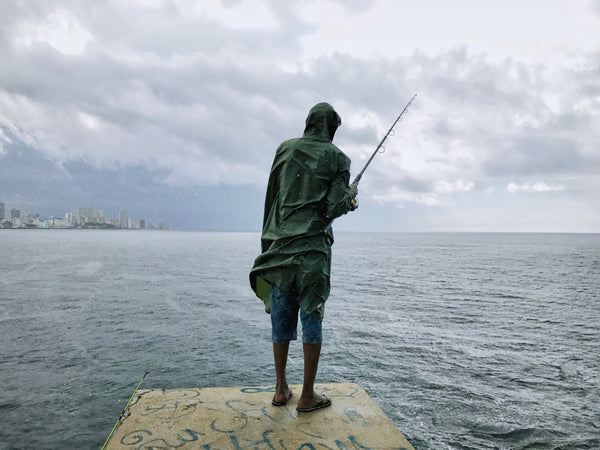 Rain and Fisherman