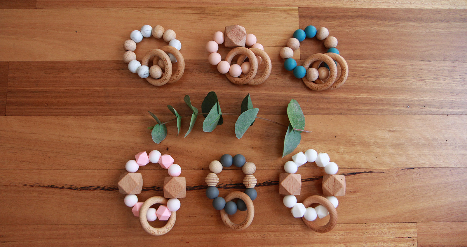 Thirty Three South Wooden Teethers