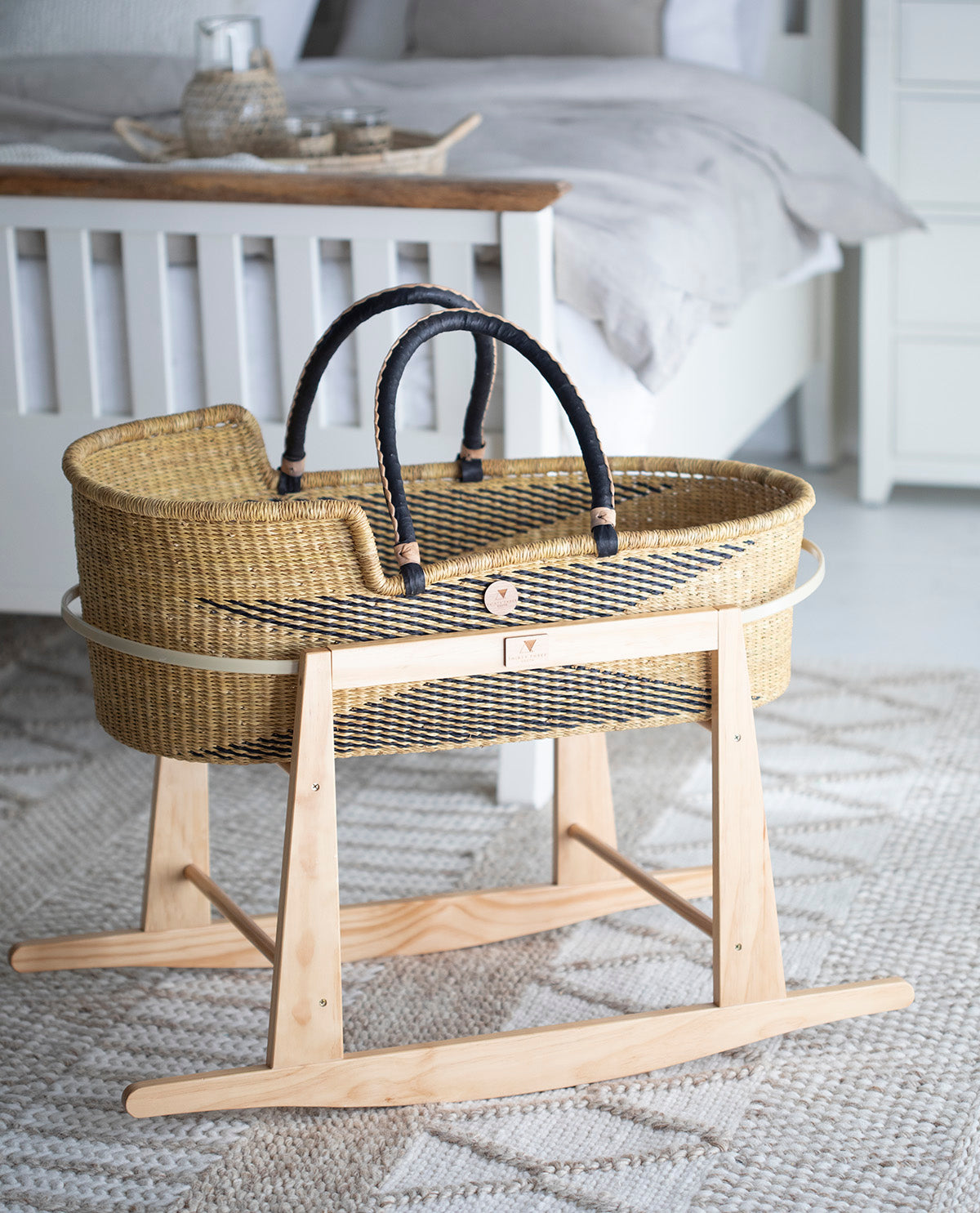 Thirty Three South Moses Basket Stand