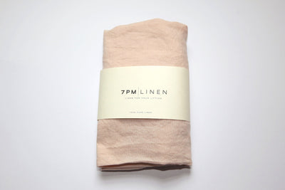 Thirty Three South Linen Basket Fitted Sheet Peony