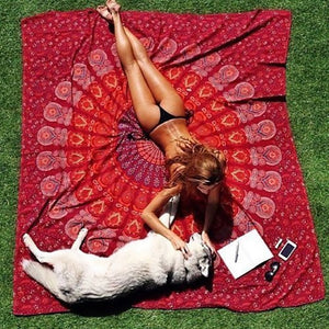 Pattern Beach Towel
