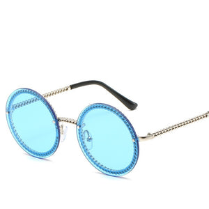 Rimless Round Glasses