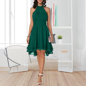Plus Size Casual Layered Dress
