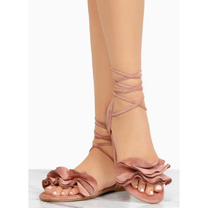 Cross Bandage Sandals