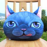 Handmade Accessories 3D Cat Cushion Pillows
