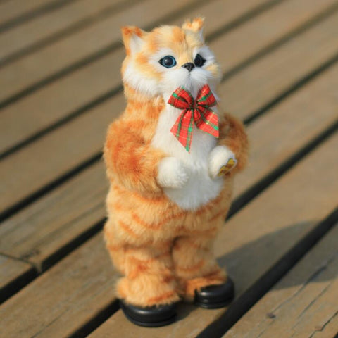 30cm Handmade Simulation Dancing Cat
