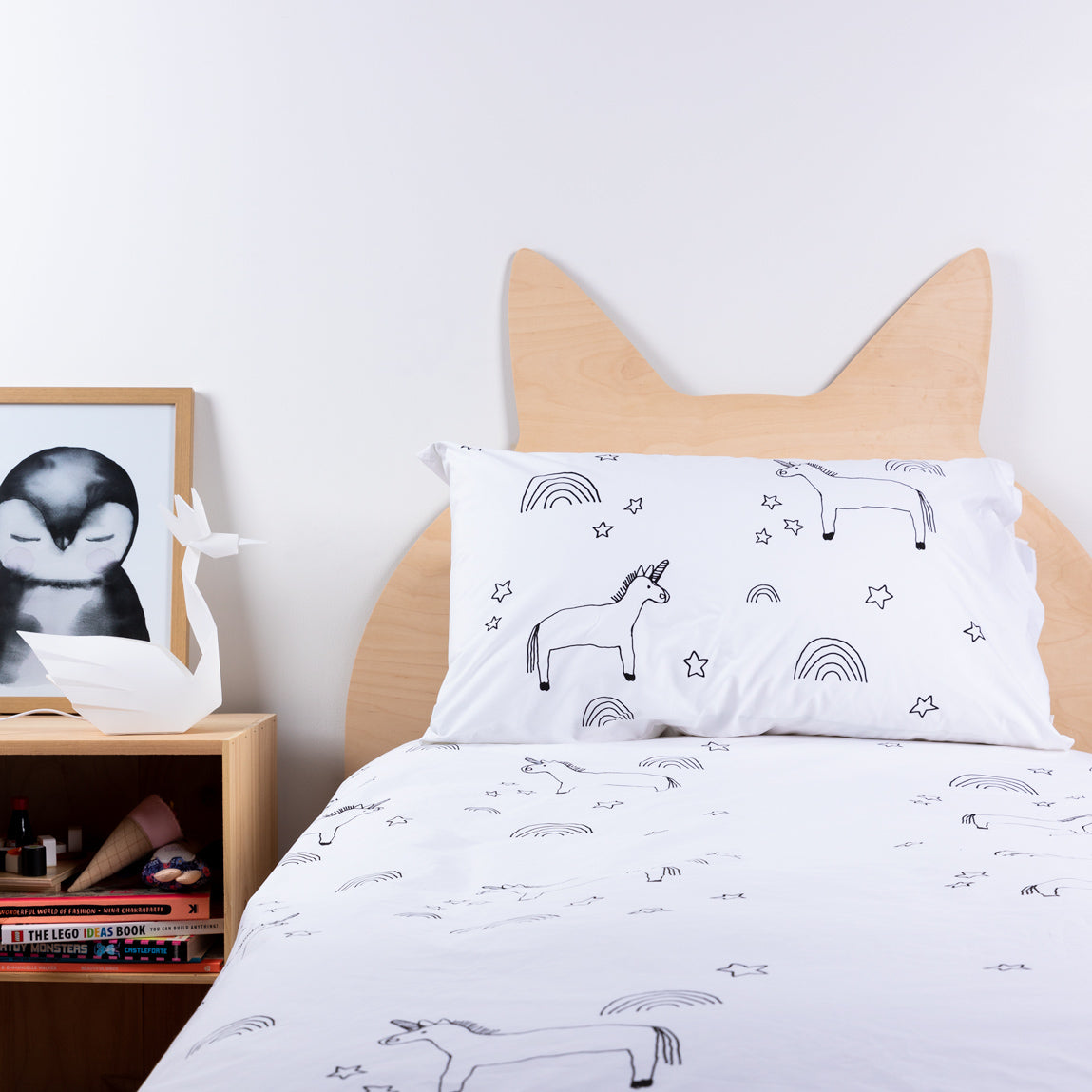 Henry + Co Duvet - Elkie Unicorn