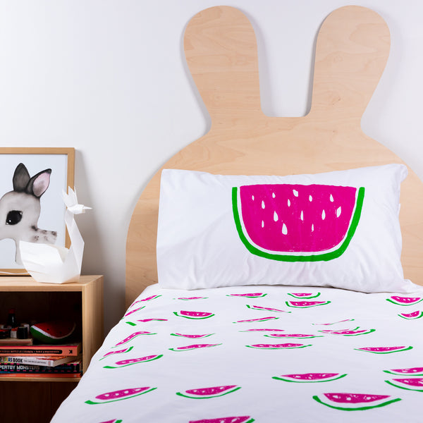 Henry + Co Duvet - Watermelon