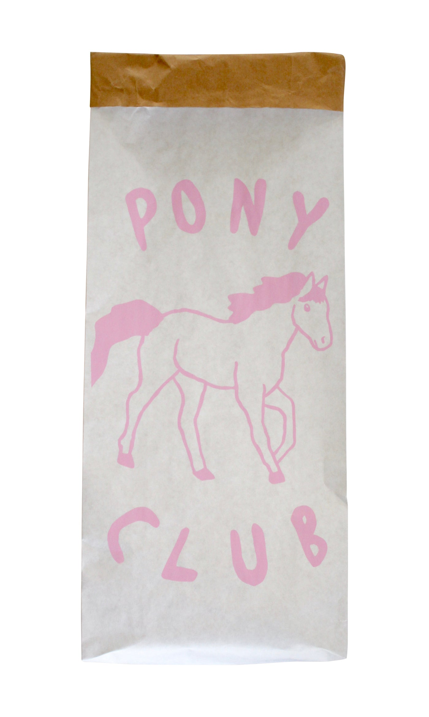 Henry + Co Pink Pony Club Storage Bag