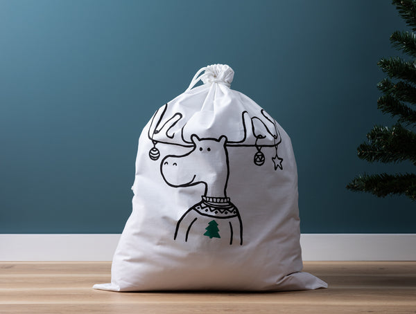 Henry + Co - Santa Sacks - Green
