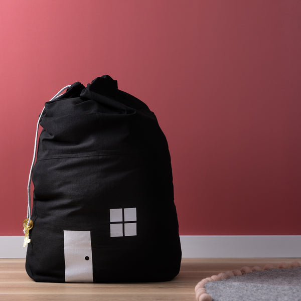 House Storage Bag - Black