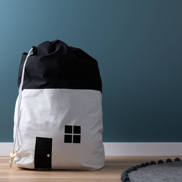 House Storage Bag - White