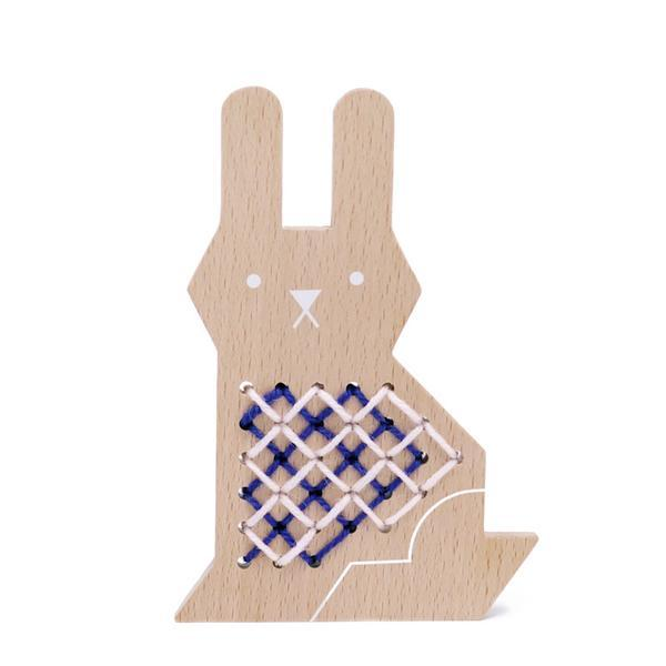 Cross Stitch Bunny by Moon Picnic