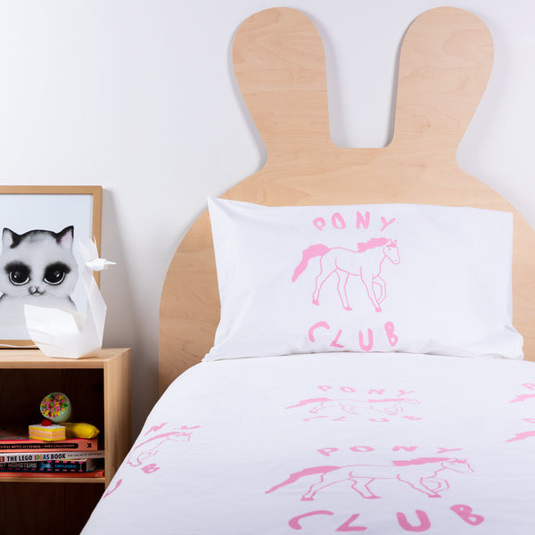 Henry + Co Duvet- Pink Pony Club