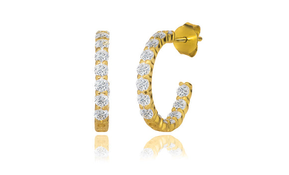 The Bella Hoops - Gold