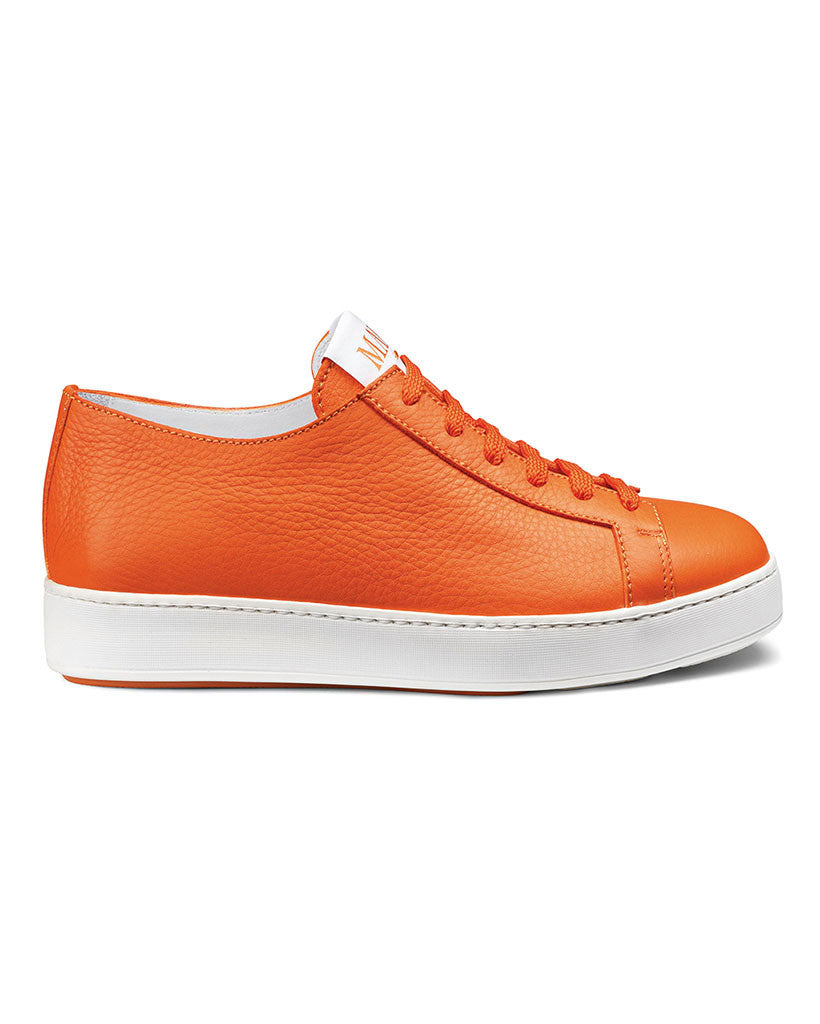 Purple for Santoni Make Love sneakers in orange
