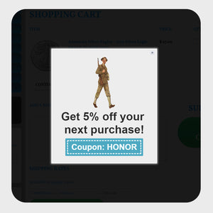 Coupon Box on the Cart Page