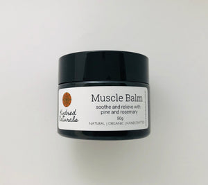 soothe and relieve natural sore muscle balm