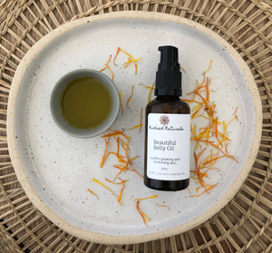 natural pregnancy oil for stretch marks