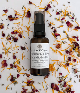 natural organic face and body oil
