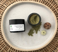 Load image into Gallery viewer, Natural seaweed skincare face mask