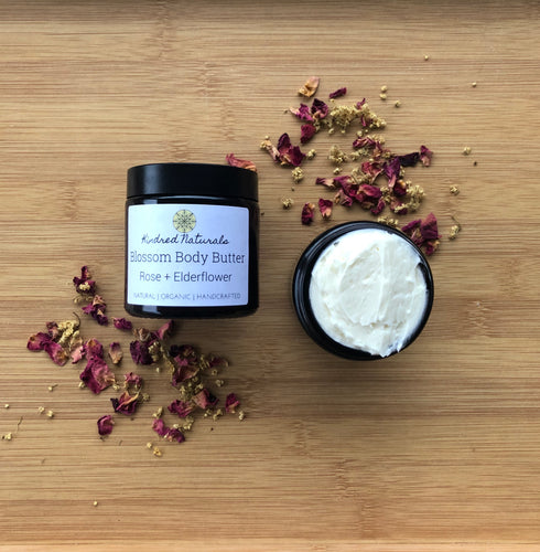 australian natural and organic elderflower body butter