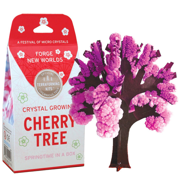 Crystal Growing Cherry Tree
