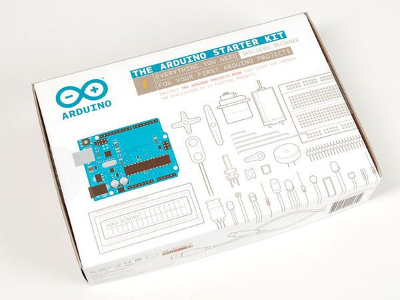 Official Arduino Starter Kit (English, French, Spanish)