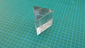 PRISM EQUILATERAL GLASS 37 X 37MM