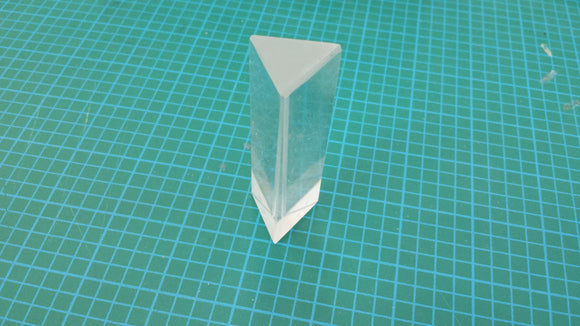 PRISM EQUILATERAL GLASS 25 X 75MM