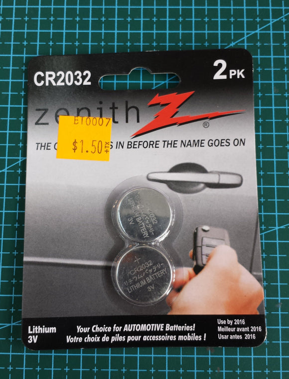 2032 Coin Cell Battiers, pair