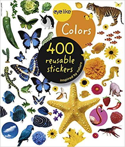 Eyelike Stickers: Colors 400 Stickers