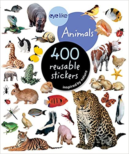 Eyelike Stickers: Animals 400 Stickers