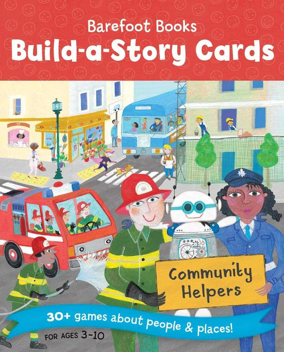 Barefoot Books Build a Story Cards Community Helpers