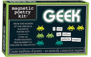 Geek Kit Poetry Magnets