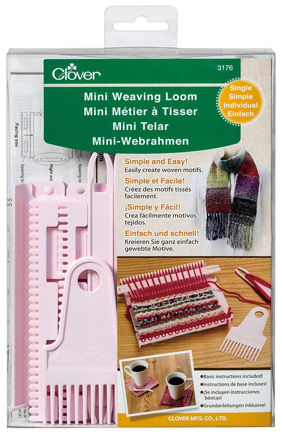 Clover Mini Weaving Loom (Single and Double)