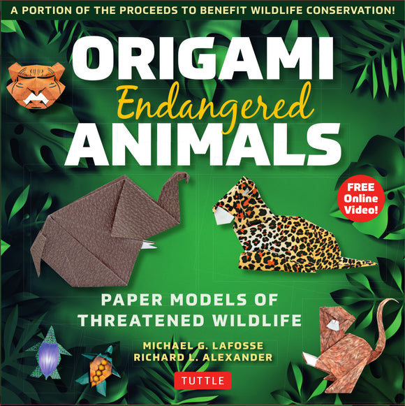 Origami Endangered Animals