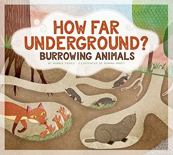 How Far Underground?: Burrowing Animals