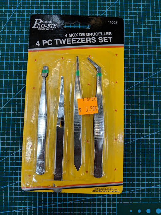 4PC Tweezer Set