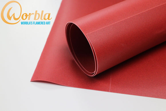 Worbla's Flame Red
