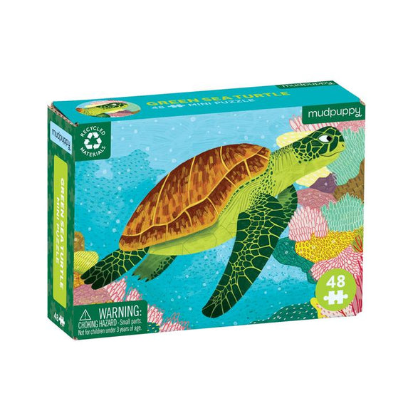 Mini Puzzle Green Sea Turtle