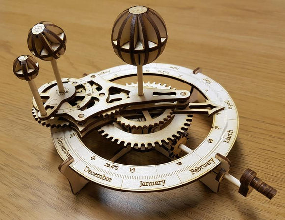 Wooden Orrery by Induku Design