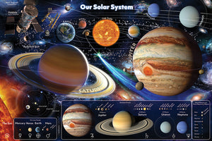 Our Solar System Floor Puzzle