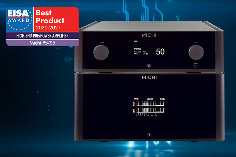 Rotel Michi P5 & S5 Win EISA Award!
