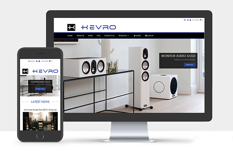 Introducing The New Kevro Website!