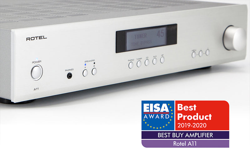 Rotel A11 Wins EISA Award!
