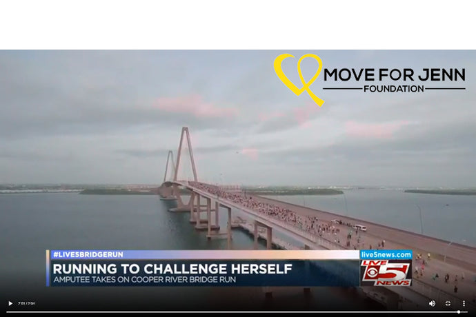Live 5: Woman who lost foot to cancer will be running Bridge Run