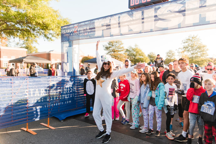 Nonprofit 5K Race: Pajamas All Day Recap