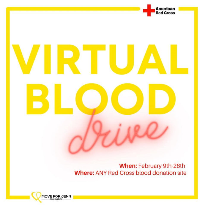 Virtual Blood Drive - Move For Jenn Foundation