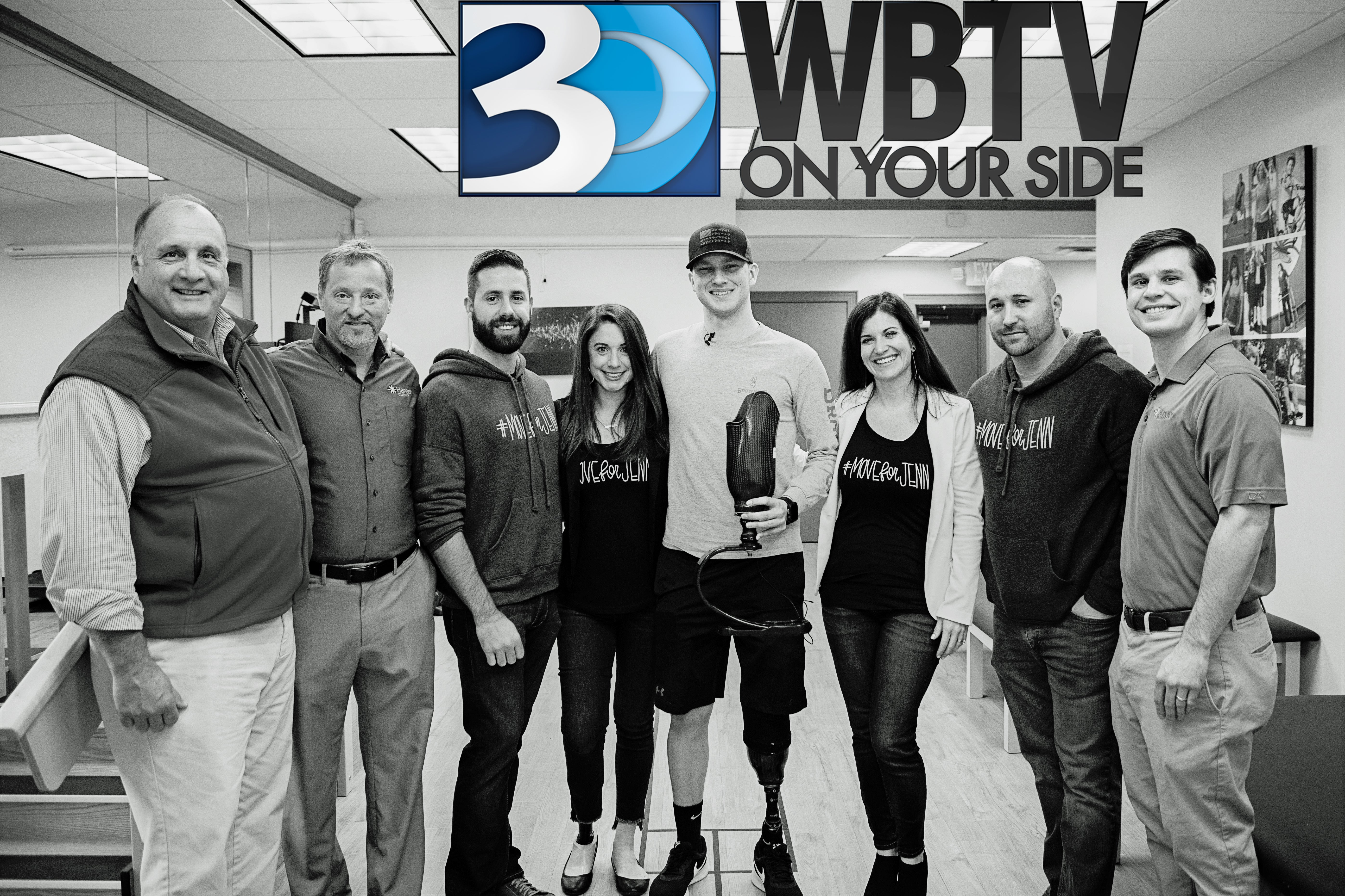 WBTV: Woman Starts Nonprofit After Amputation – Move For